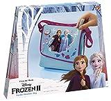 Tm essentials Disney Frozen II Do It Yourself - Bolso Bandolera para Decorar, con Diamantes de plástico, Aplicaciones de Frozen 3D, Pegamento Brillante y Cinta Frozen.