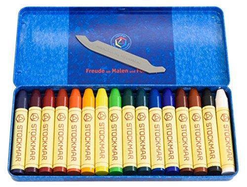 Wachsmalstifte - 16 Farben