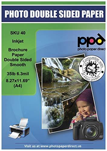 Photo Paper Direct ppd-40–100A4Ultra Glatte doppelseitig Inkjet Broschüren und Flyer Papier