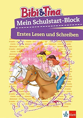 Bibi & Tina Mein großer Schulstart-Block mit Bibi und Tina: Erstes Lesen, Schreiben, Konzentration; ab 5 Jahren (Lernen mit Bibi und Tina)