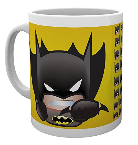 GB Eye LTD, DC Comics, Emoji Batman, Taza