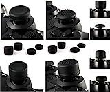 giZmoZ n gadgetZ Lote de 8 Piezas de puños de Pulgar Blandas, Joystick de Pulgares, Tapas de protección de Alto Refuerzo Adicional, Funda para Sony Play Station 4, PS4, PS3, Xbox 360