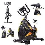 Spinbike Fly Spin 18 | Spinning Bike con volante de inercia de 18 kg | Bicicleta de entrenamiento en casa adelgazante, fuerza, resistencia | Bicicleta estática