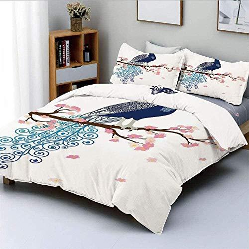 lakan dubbla sängkläder set och dra-på-lakan dubbelstorlek 4 delar mikrofiber påslakan med örngott lyx med 59 cm djup ficka lakan mjukt påslakan blekningsbeständigt