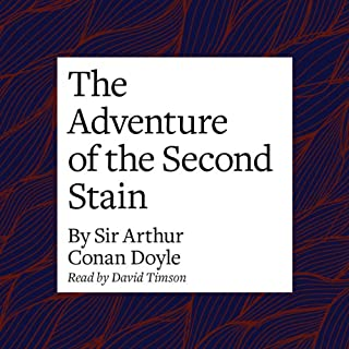 The Adventure of the Second Stain cover art