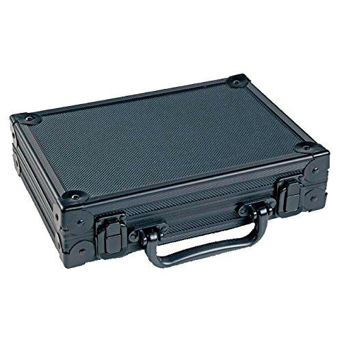 McDart Alukoffer schwarz mit 9 Softdarts und Zubehör