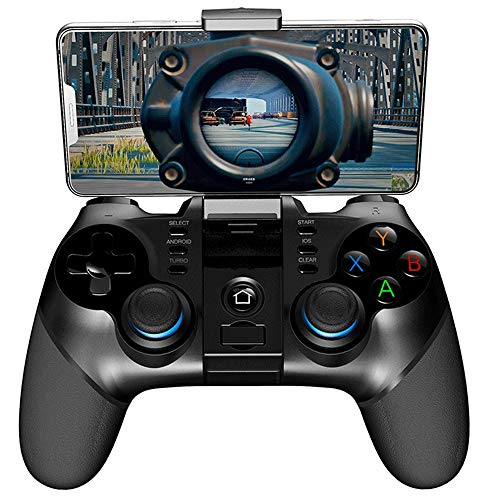 WXH-00 Wireless Bluetooth 2.4G Gamepad Game Controller para PUBG Game Joystick con Receptor Inalámbrico para iOS PC