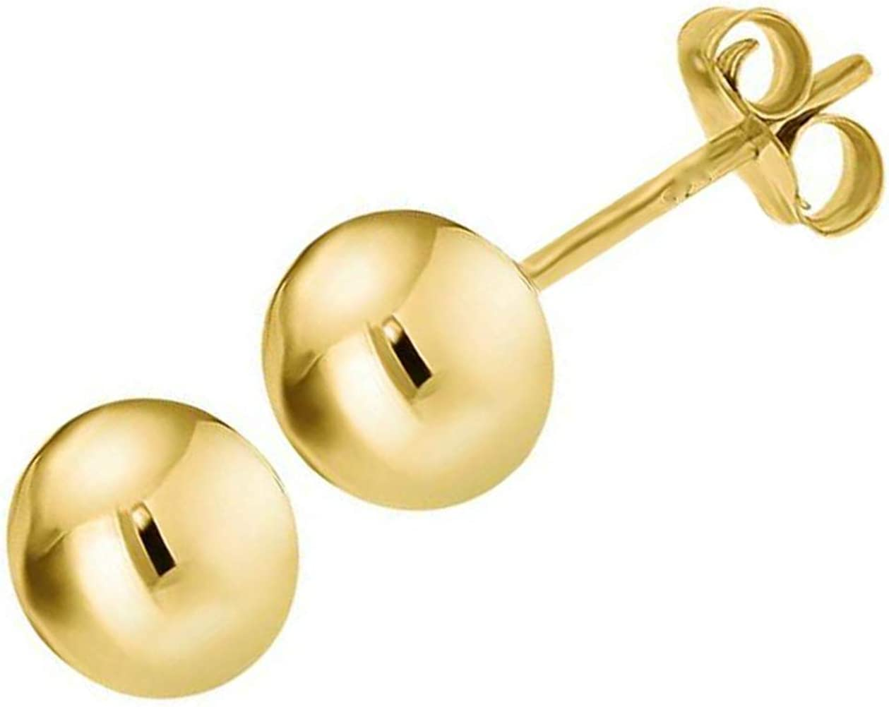Real Max 45% OFF Gold 24ct Filled Ball Max 45% OFF Stud Than with 20x More Earrings