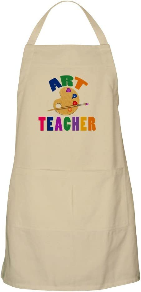 CafePress Art Teacher Kitchen Apron Pockets with Grilling Deluxe Max 84% OFF