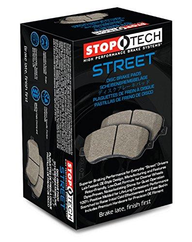 StopTech 308.00090 - Pastillas de freno delanteras y traseras