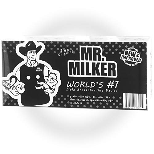 Great Inventions Gift Box, Mr Milker, Now Men Can Breastfeed - The Box
