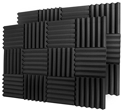 A2S Protection 24 Pack Acoustic Foam Panels 2