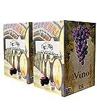 PACK - 2 Bag in Box 15 Litros Vino cosechero vino tinto joven de Bodega Los Corzos (Equivalente a 40 Botellas de 750 ml)