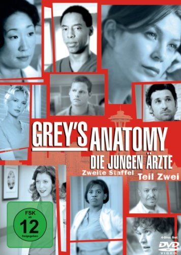 Grey's Anatomy - Die jungen Ärzte - Zweite Staffel, Teil 2 (4 DVDs)