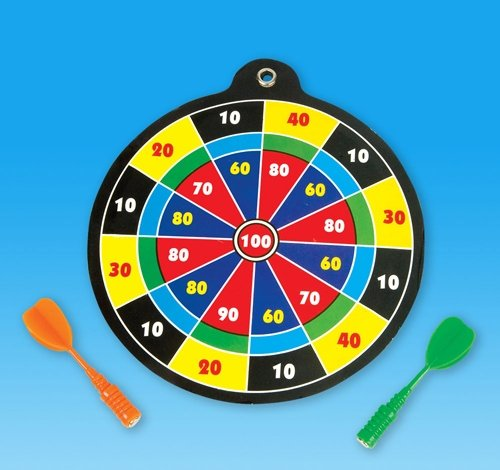 Find Discount DollarItemDirect 5 inches Dart Board Game, Case of 144