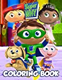 Super Why Coloring Book: Discover A Book With Essential Activities For Toddlers And All Preschoolers To Enjoy While Learning And Playing A Variety Of Educational Games