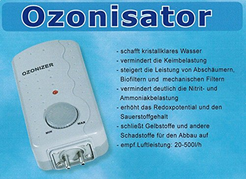 TAB Ozonisator ET-50 4Watt regelbar 5-50mg/h Für Süß-und Meerwasser