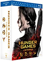 Hunger Games - L'intégrale : Hunger Games + Hunger Games 2 : L'embrasement + Hunger Games - La Révolte : Partie 1 +...