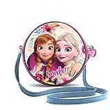 Karactermania Frozen La Reine des Neiges Smile Rond Sac bandoulière, 19 cm, Multicolour