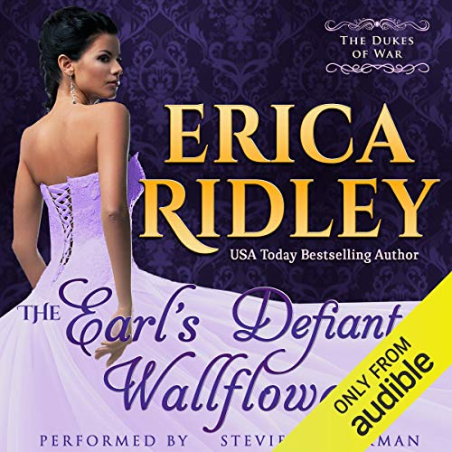 The Earl's Defiant Wallflower Audiobook By Erica Ridley cover art