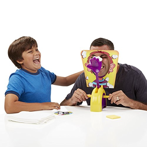 Pie in the face board game