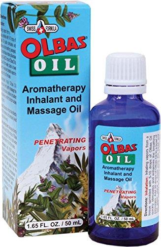 Olbas Oil Aromatherapy Inhalant and Aromatic Massage Oil, 1.65 Fl Oz