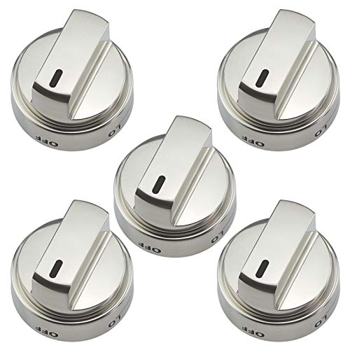 Beaquicy AEZ73453509 Gas Burner Control Knob- Replacement for LG & Kenmore Oven Stove 5 Pack