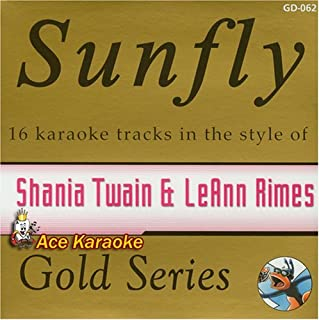 Sunfly Karaoke Gold Series Vol 62 - Hits Of Shania Twain & LeAnn Rimes (CD+G) By Various Artists (0001-01-01)