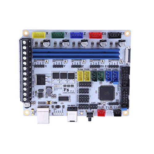 PETSOLA 3D Printer Control Mainboard Motherboard Controller Board for MKS BASE 1.4