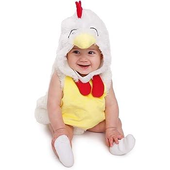 Dress Up America Disfraz de gallo de felpa bebés y niños, color, 6 ...