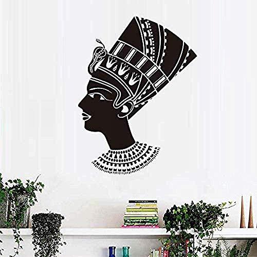 Muursticker slaapkamer decoratieve muurtattoos ladder van Egyptische woonkamer zwart Ative Pvc afneembaar 59X77cm