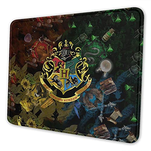 Mouse Pads with Non-Slip Rubber Base for Home Office Working Studying, 22cm X 18 cm (Harry-Potter)