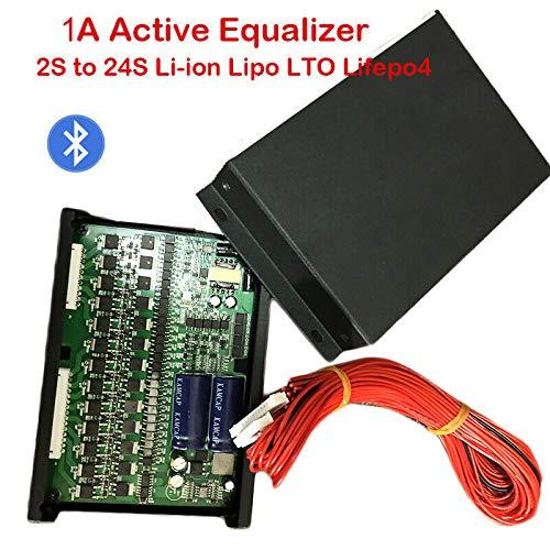 color tree Batería de litio Balanceador activo Li-ion Lipo Lifepo4 LTO Super condensadores Otras baterías Cascade para 24S Paquetes de baterías 36S 48S, etc. Función de comunicación Bluetooth