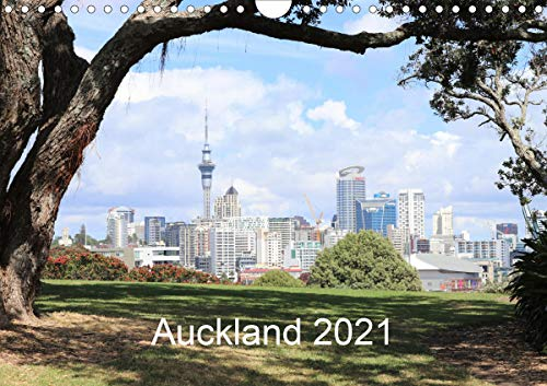 Auckland 2021AT-Version (Wandkalender 2021 DIN A4 quer)