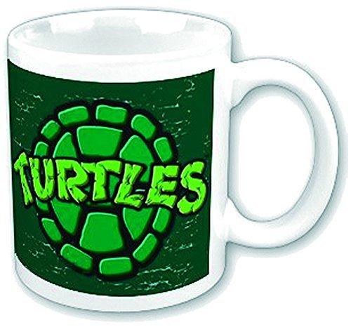 Turtles Tasse Retro Shield Schildkrötenpanzer Teenage Mutant Ninja Turtles Kaffeetasse Keramik Becher