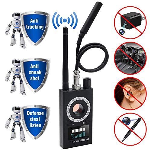 Detector de Insectos inalámbrico Anti espía RF señal para cámara Oculta Lente láser gsm Dispositivo de Escucha Radar escáner de Radio Alarma de señal inalámbrica