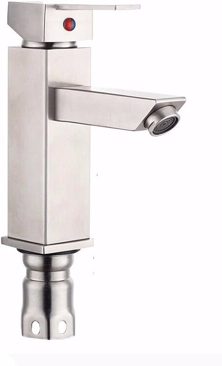 Hlluya Professional Sink Mixer Tap Kitchen Faucet The quartet 304 Stainless Steel Basin lowered basin faucet stainless steel Faucet