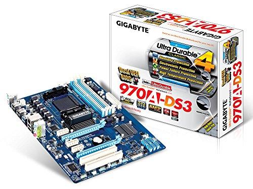 Gigabyte GA-970A-DS3, AMD 970, AM3+, ATX