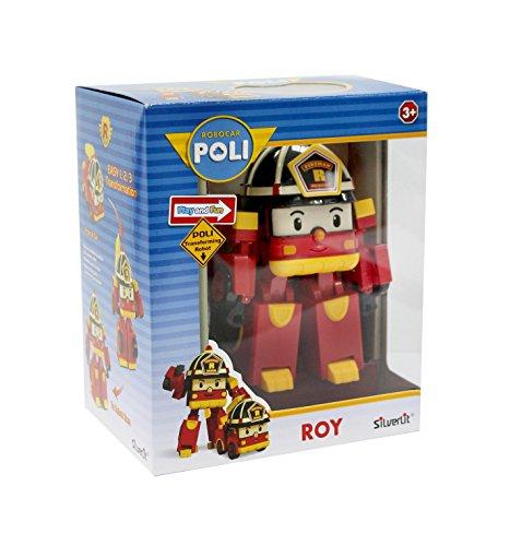 Robocar Poli - 83093 - Véhicule transformable lumineux 13cm Roy