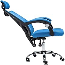RANRANJJ Office Adjustable Chair,High Back with Breathable Mesh Recline Desk Chair Swivel Chair Ergonomic Chair Lift Compu...