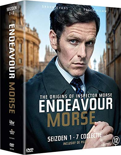 Mesa Mall Purchase Endeavour Complete Series 1-7 - NON-USA FORMAT 16-DVD Boxset