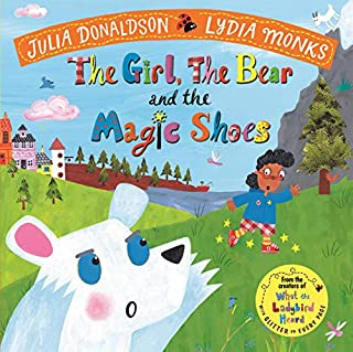 Couverture de The Girl, the Bear and the Magic Shoes