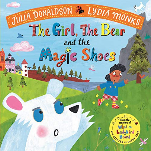 The Girl, the Bear and the Magic Shoes audiobook cover art