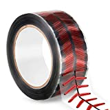 Didida 153 Yards Heavy Duty Baseball Stitches Design Tape Decorative Baseball Adhesive Crafting Gift Wrapping Packing Tape Roll for Shipping,Sealing,DIY Crafts,Wall Sticker,Theme Party,Home Decoration