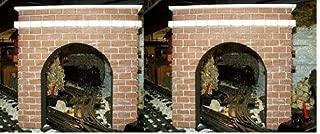 Model Railroad O Gauge Tunnel Portal - Set of 2