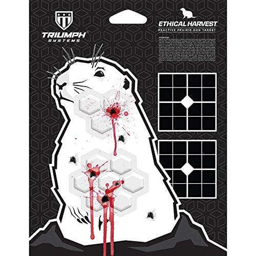 Ethical Harvest Prairie Dog Silhouette | 6-Pack | Hunter Target | Animal Hunter Targets | Large Animal Targets | Practice Shooting Targets
