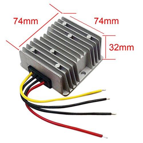 EBILUN DC36V/48V a 24V Convertidor de escalón, 20A 480W fuente de alimentación cambiador de voltaje módulo regulador