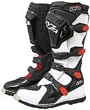 W2 Boots - Stivali da Moto, Bianco/Nero, 39