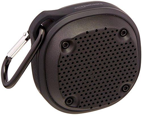 2. AmazonBasics Bluetooth Shower Speaker