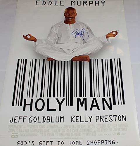 Holy Man Eddie Murphy Signed Autographed 27x40 Full Size Movie Theatre Poster Loa